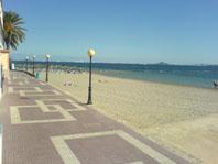 Las Palmeras Beach Los Alcazares Murcia