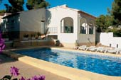 Moraira Holiday Villa